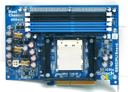 Плата ASRock 939 Upgrade Board