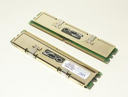Память OCZ Gold DDR2 PC6400