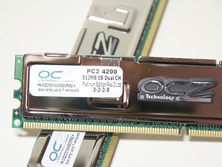 Память OCZ Platinum DDR2 PC4200