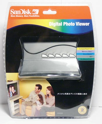 Упаковка Sandisk Digital Photo Viewer