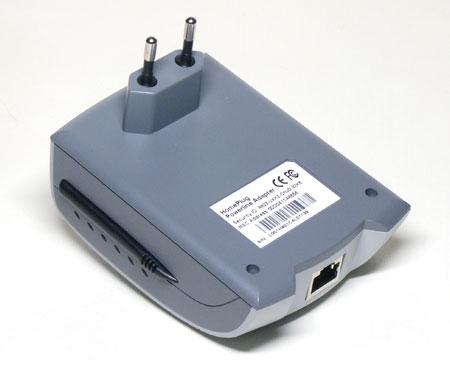 Адаптер HomePlug Ethernet PowerLine  Adapter