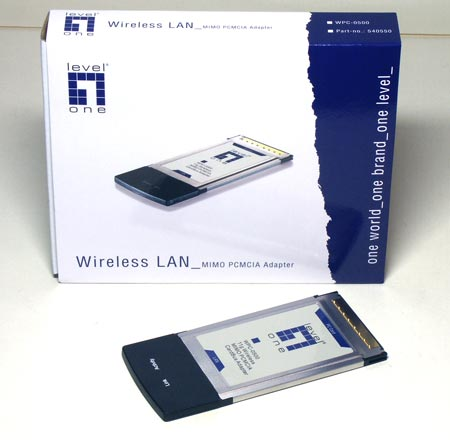 Wi-Fi ���������� Level One WPC-0500 � ���������� MIMO