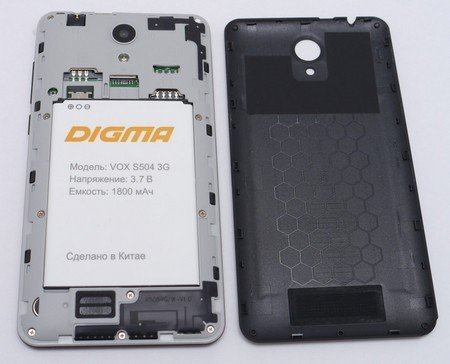 Digma VOXS501 3G, S504 3G и S506 4G