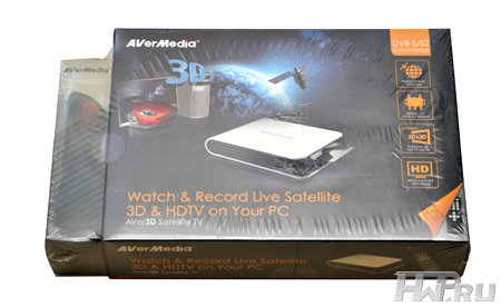 Упаковка Aver3D Satellite TV