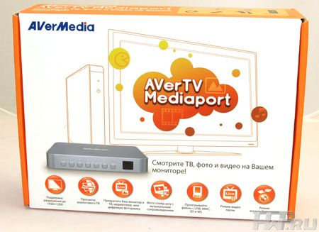 Упаковка AverTV MediaPort