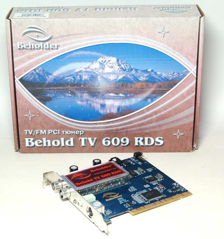 ��-����� Behold TV 609 RDS