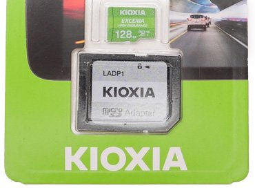 Обзор карточки KIOXIA EXCERIA HIGH ENDURANCE 128 Gb